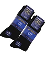 (ハルサク) HARUSAKU 12足 靴下 メンズ ビジネス 黒 ブラック ソックス セット 抗菌 防臭
