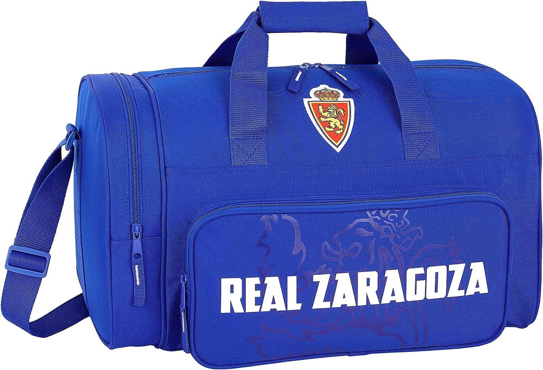 Real Zaragoza Oficial Bolsa de Deporte Oficial 470x270x260mm ...