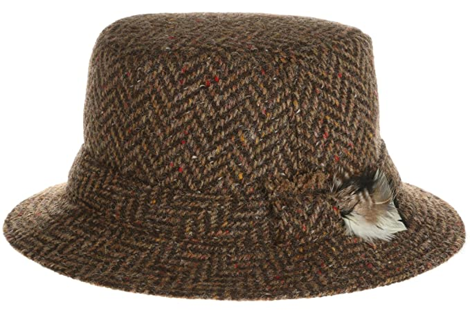 f899630238435 1960s – 70s Style Men s Hats Hanna Hats Mens Donegal Tweed Original Irish  Walking Hat  59.99