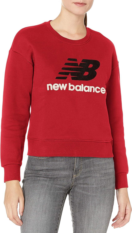 New Balance Womens Stadium Crew Neck Sweatshirt