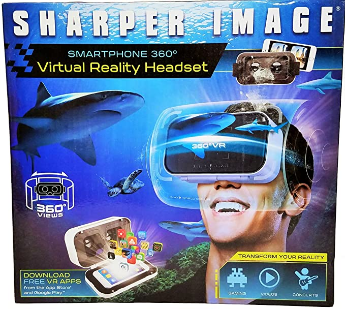 bcdb2fff750 Amazon.com  Smartphone 360 Virtual Reality Headset with Audio Jack ...