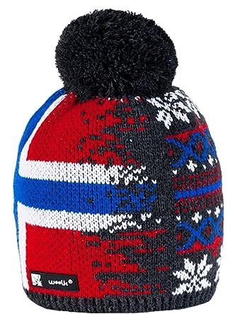 Unisex Kids Children Knitted Beanie Hat Hats Cap Winter Worm Girls Boys Bubble 1