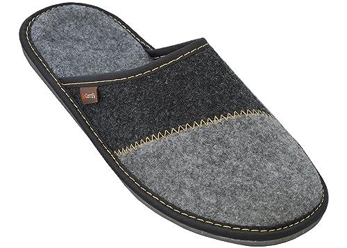 BeComfy Zapatillas de Estar por casa para Hombre Negro Gris Muchos diseños: Amazon.es: Zapatos y complementos