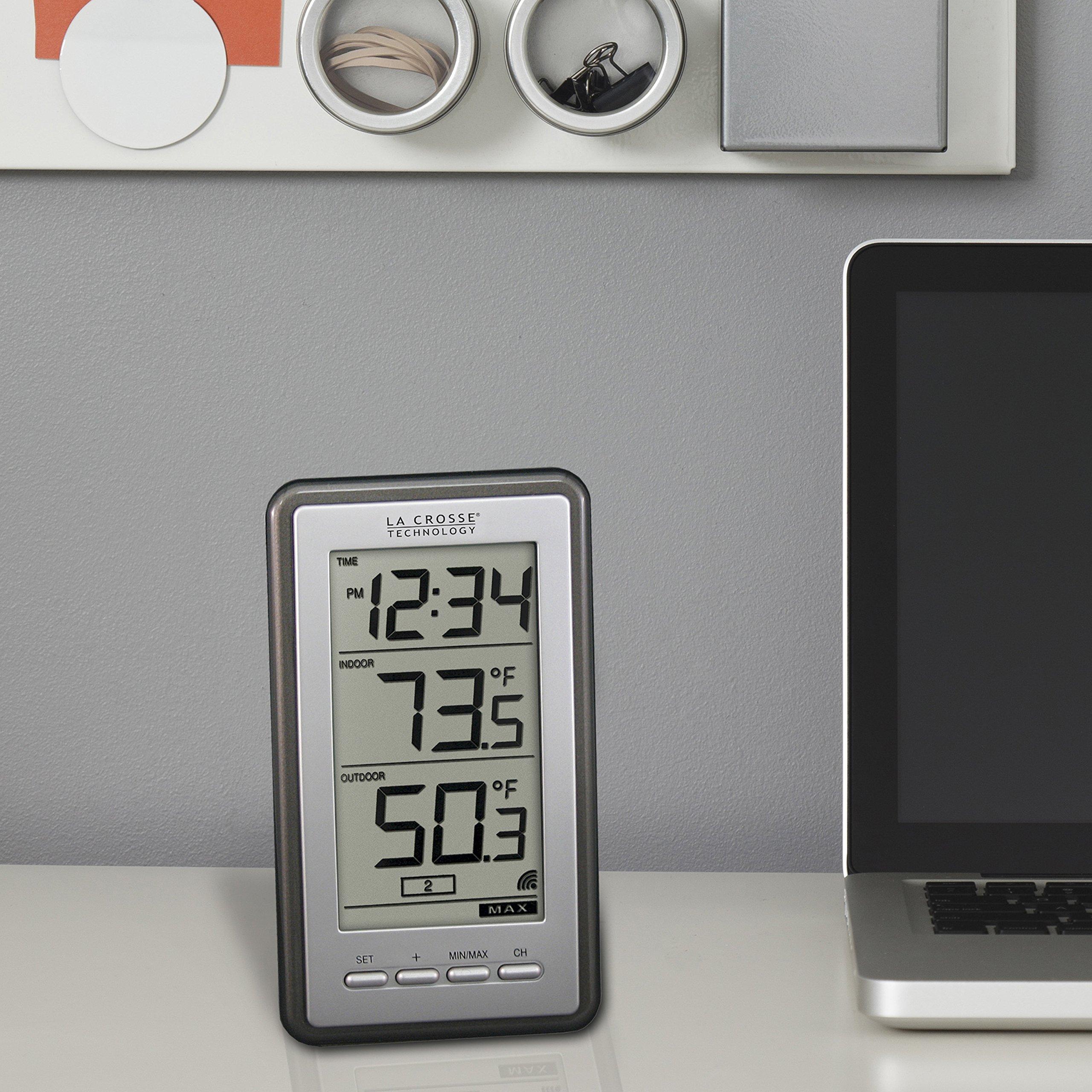 La Crosse Technology Indoor/Outdoor Temperature WS-9160U-IT Digital Thermometer