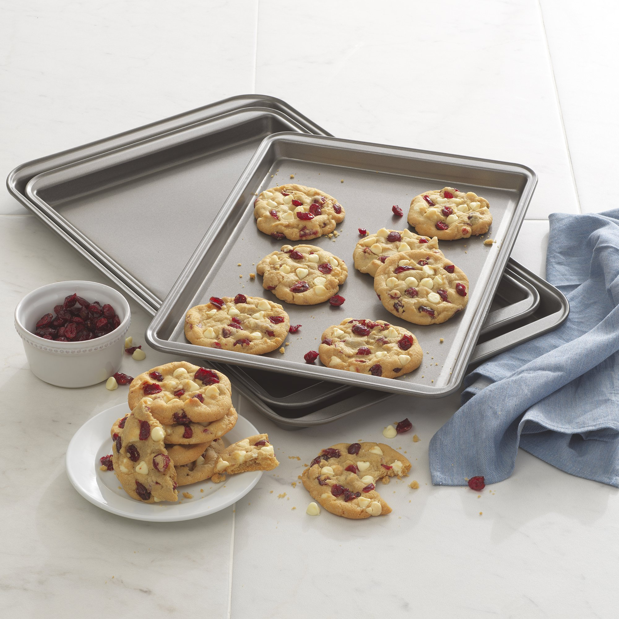 Good Cook Set Of 3 Non-Stick Cookie Sheet by Good Cook (Image #4)