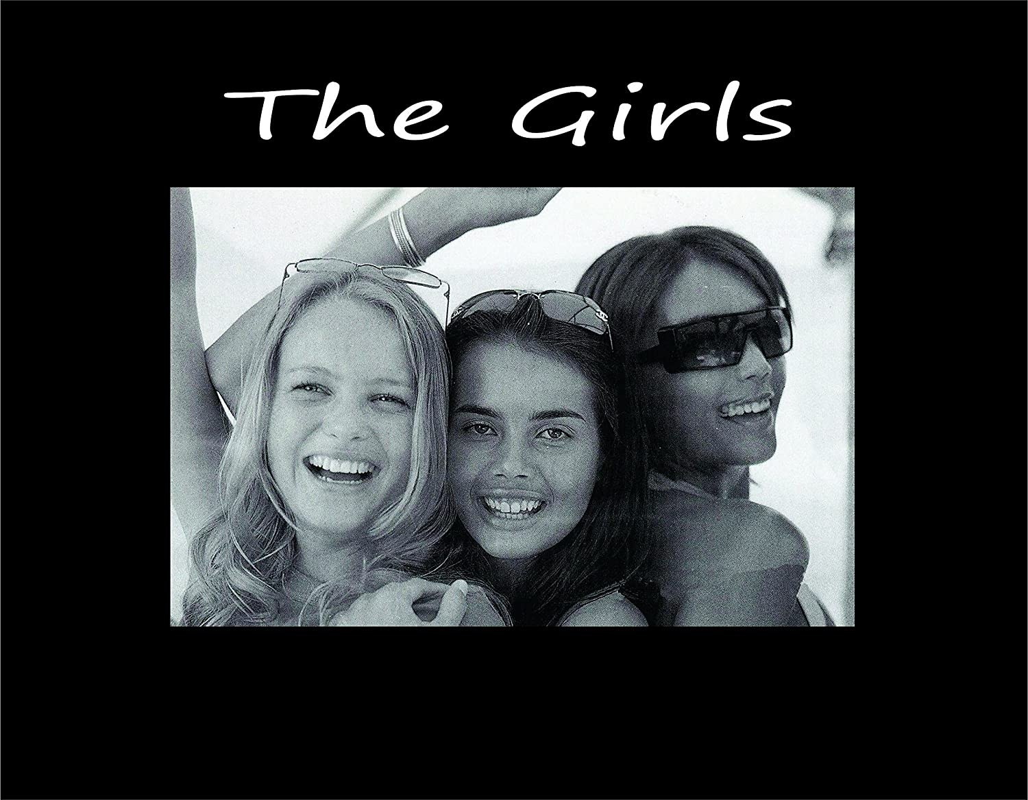 Infusion Gifts The Girls Black Small Engraved Photo Frame