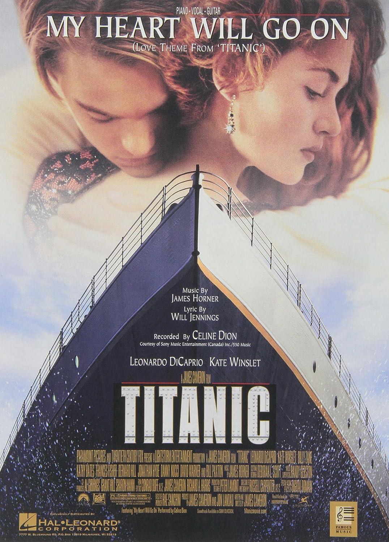 Amazon My Heart Will Go On Love Theme From Titanic Piano