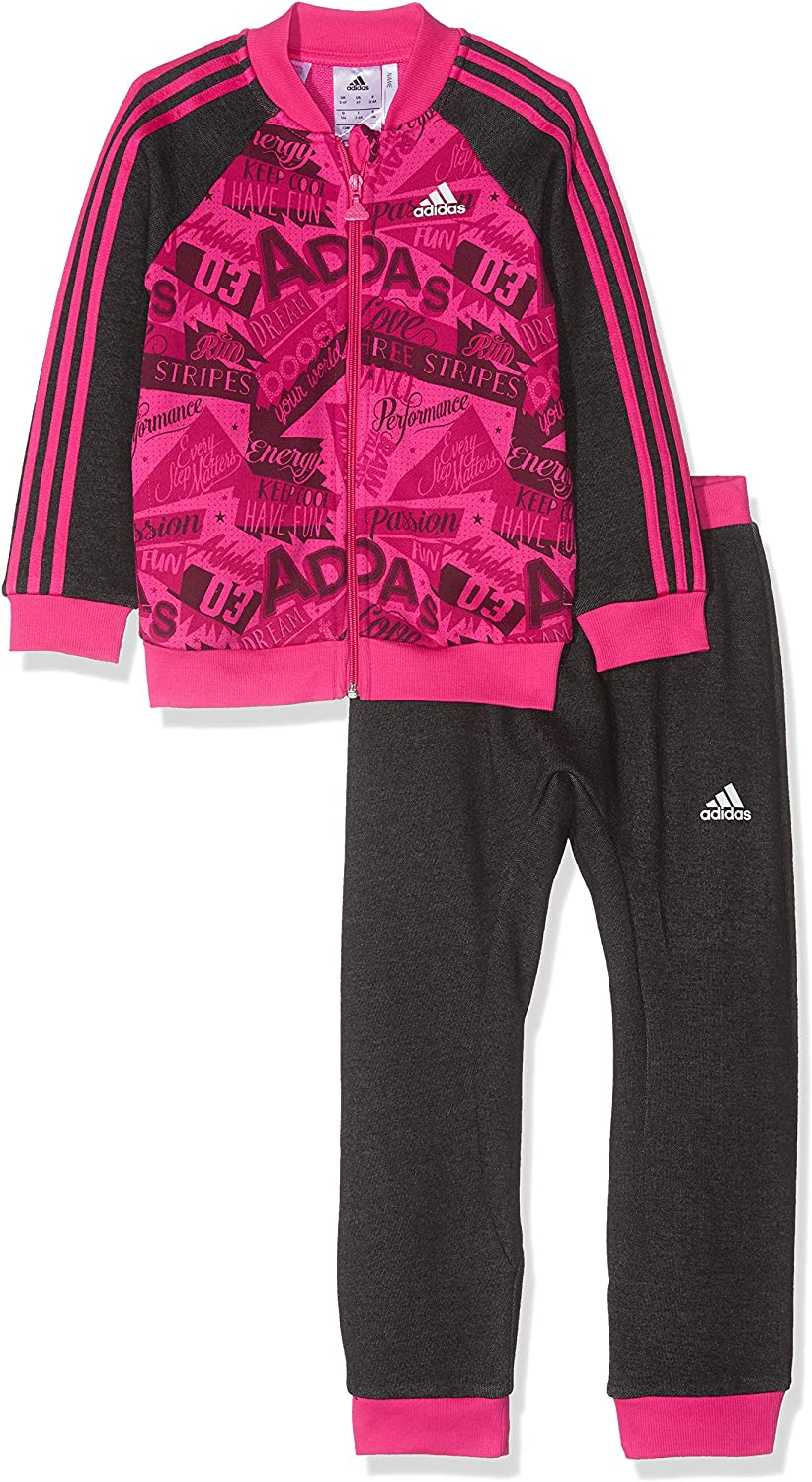 adidas Unisex Baby basketballall Jogger French Terry Chándal ...