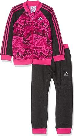adidas Unisex Baby basketballall Jogger French Terry Chándal, otoño/Invierno, Unisex bebé, Color: Amazon.es: Ropa y accesorios