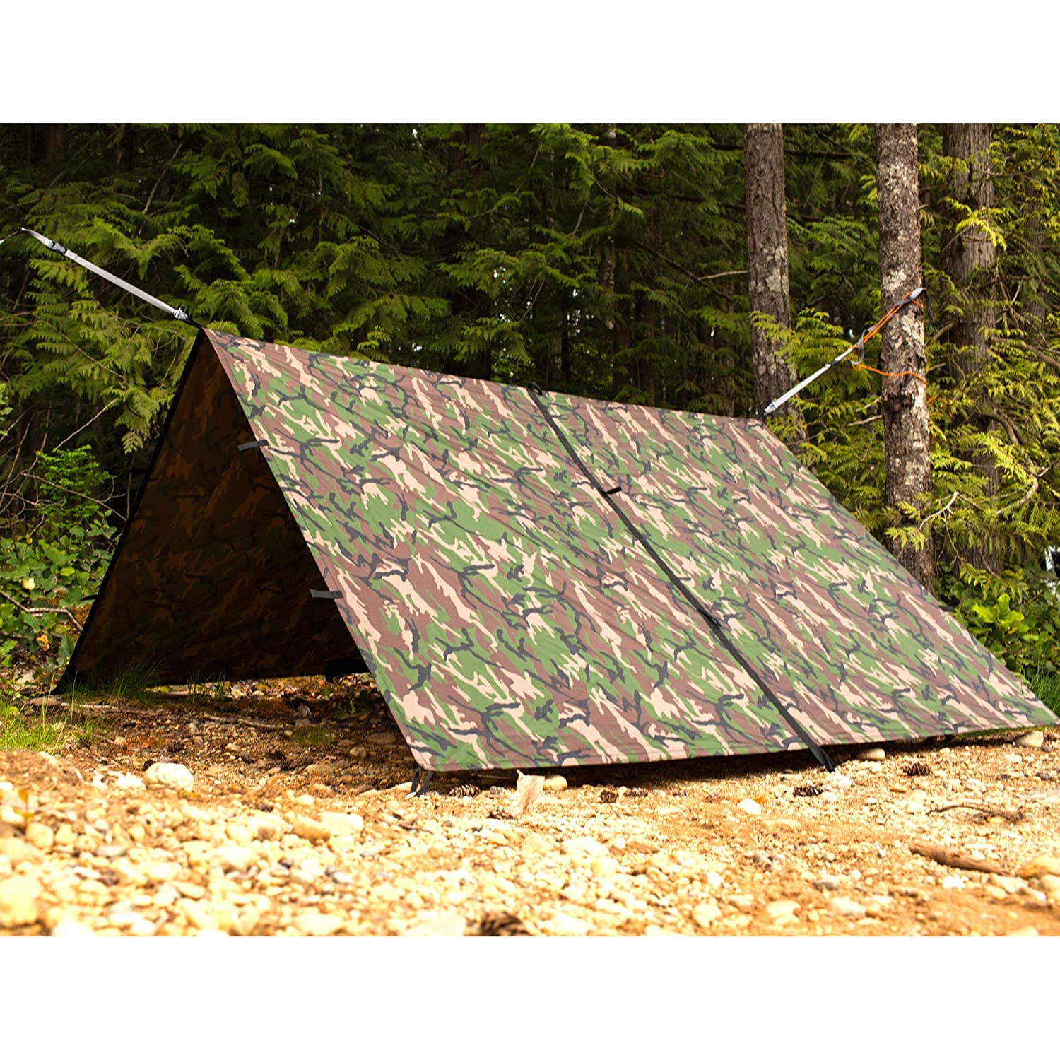 Amazon.com  Aqua Quest Defender Tarp Medium 10 x 7 ft Camo - Heavy Duty Waterproof Nylon Shelter - Compact Versatile u0026 Durable  Sports u0026 Outdoors  sc 1 st  Amazon.com & Amazon.com : Aqua Quest Defender Tarp Medium 10 x 7 ft Camo ...