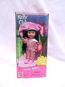 Mattel Barbie Jester Jenny Doll Kelly Club (1999 from Canada)