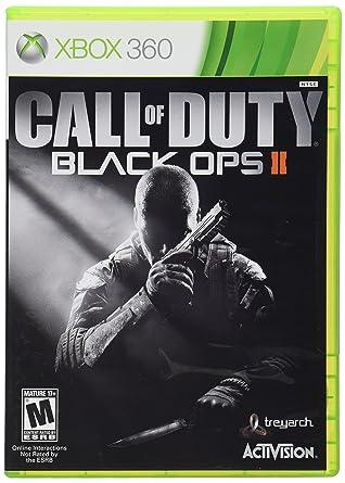Amazon Com Call Of Duty Black Ops Ii Xbox 360 Video Games