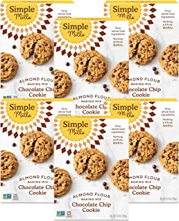 product image for Simple Mills Almond Flour Baking Mix, Gluten Free Chocolate Chip Cookie Dough Mix, Made with whole foods, 6 Count (Packaging May Vary)