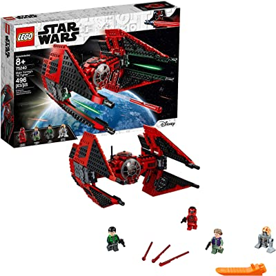 LEGO Star Wars Resistance Major Vonreg's TIE Fighter 75240 Building Kit (496 Pieces): Toys & Games