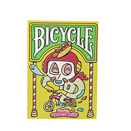 Bicycle Brosmin Baraja de Poker Coleccionista, Unisex Adult, Amarillo