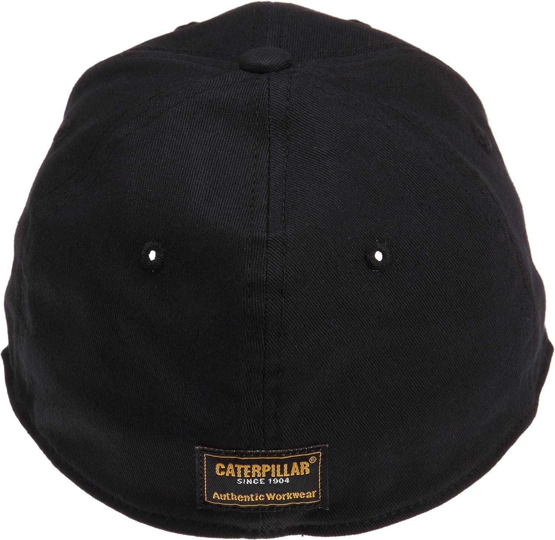Caterpillar Mens Trademark Stretch-Fit Cap