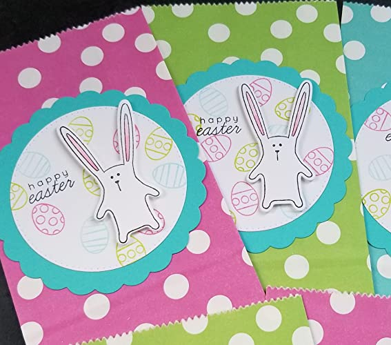 Amazon easter party favor bags set of 5 bunny gift bags handmade easter party favor bags set of 5 bunny gift bags negle Gallery