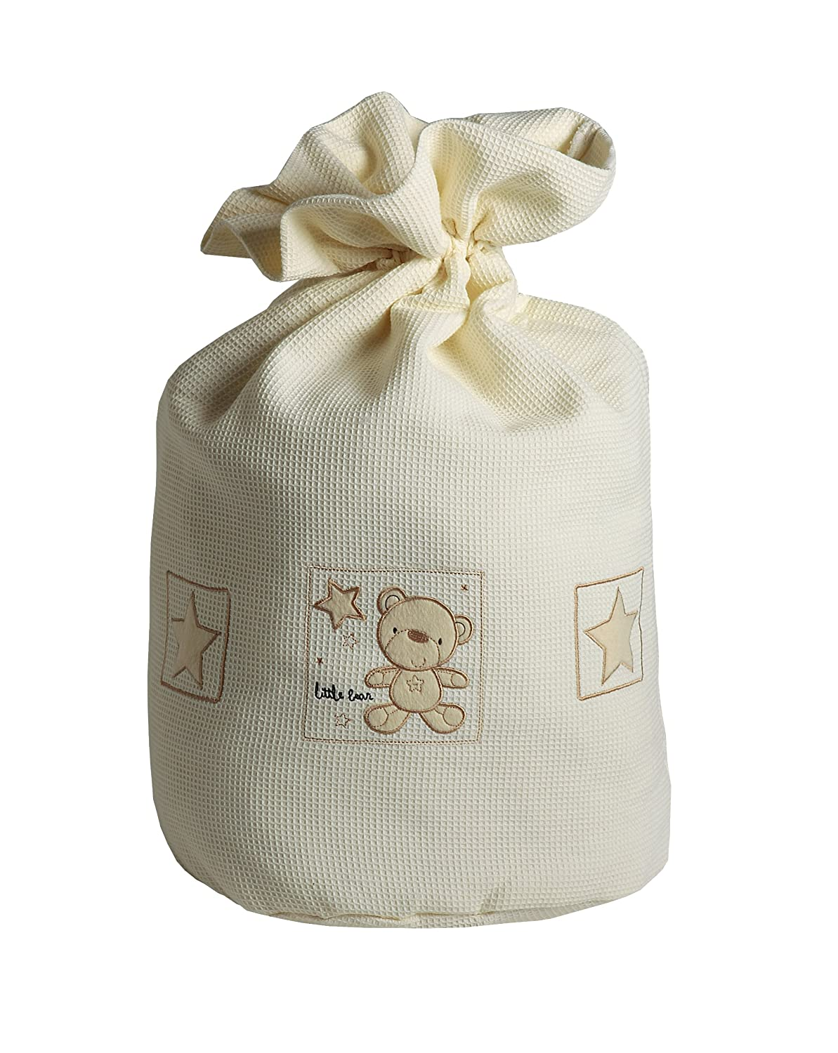 Baby Elegance Star Ted Laundry Bag (Cream) 3124