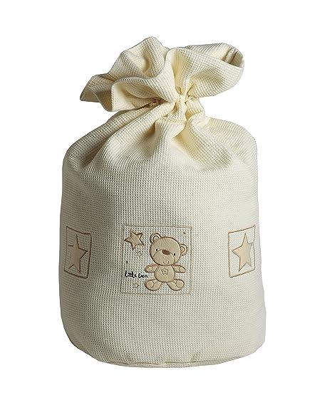 Baby Elegance Ropa Sucia, diseño de osos y estrellas, color crema ...