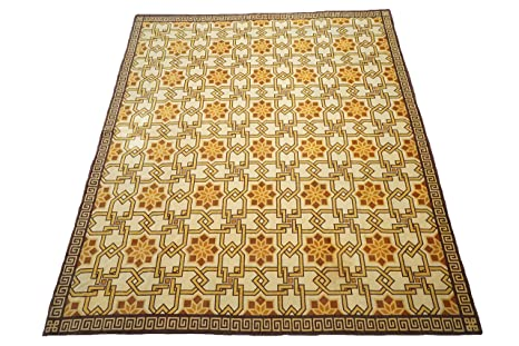 Amazon Com 12x14 Fine Tibetan Estate Area Rug Oriental Wool Carpet