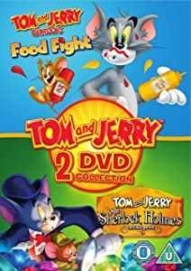 Tom And Jerry: Food Fight/Meet Sherlock Holmes [DVD] [2017]