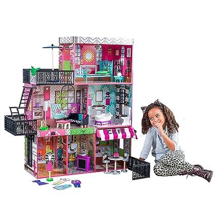 Amazon Com Kidkraft Brooklyn S Loft Doll House Toys Games