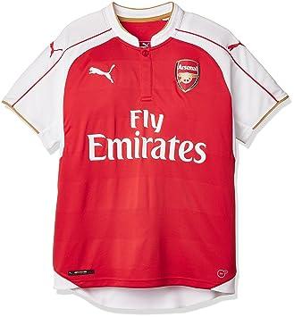 Puma Trikot AFC Home Replica Shirt with Sponsor Logo - Camiseta/Camisa Deportivas para Hombre: Puma: Amazon.es: Deportes y aire libre