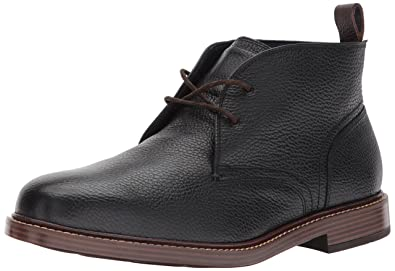 Cole Haan Men's Adams Grand Chukka, Black Tumbled, 7 Medium US