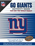 NFL New York Giants Activity Book/Blue/White/One Size