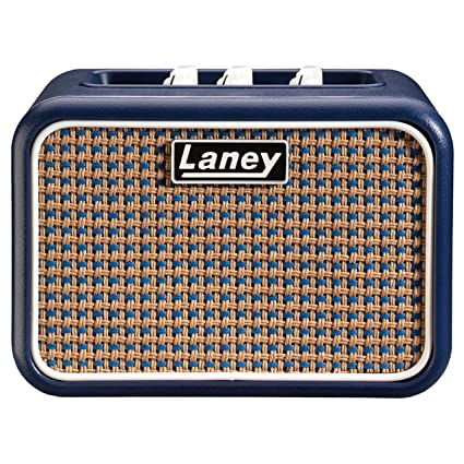 Laney Mini-Lion 3W 1x3 Mini Battery Powered desktop Guitar Combo Amp Blue