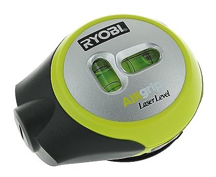 Nivel láser compacto Ryobi ELL1002 Air Grip con montaje de trípode y capacidad de redondeado de