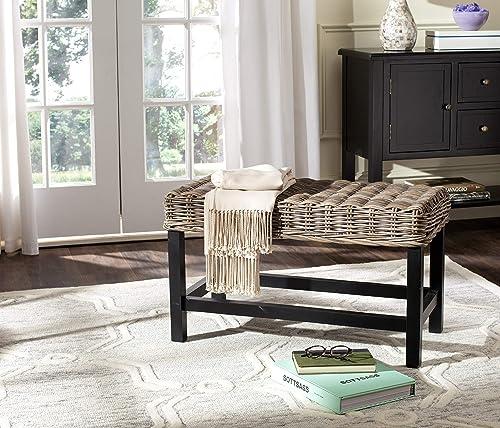 Safavieh Home Collection Omari Natural Wicker Bench