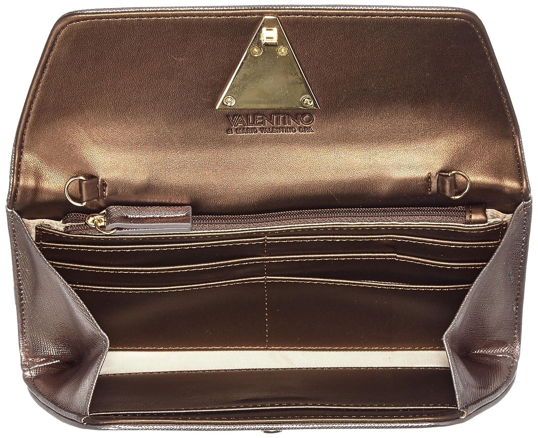Mario Valentino Valentino by Flash Mujer Bolsos totes Marrón (Bronzo) 3x10x21 cm (B x H x T): Amazon.es: Zapatos y complementos