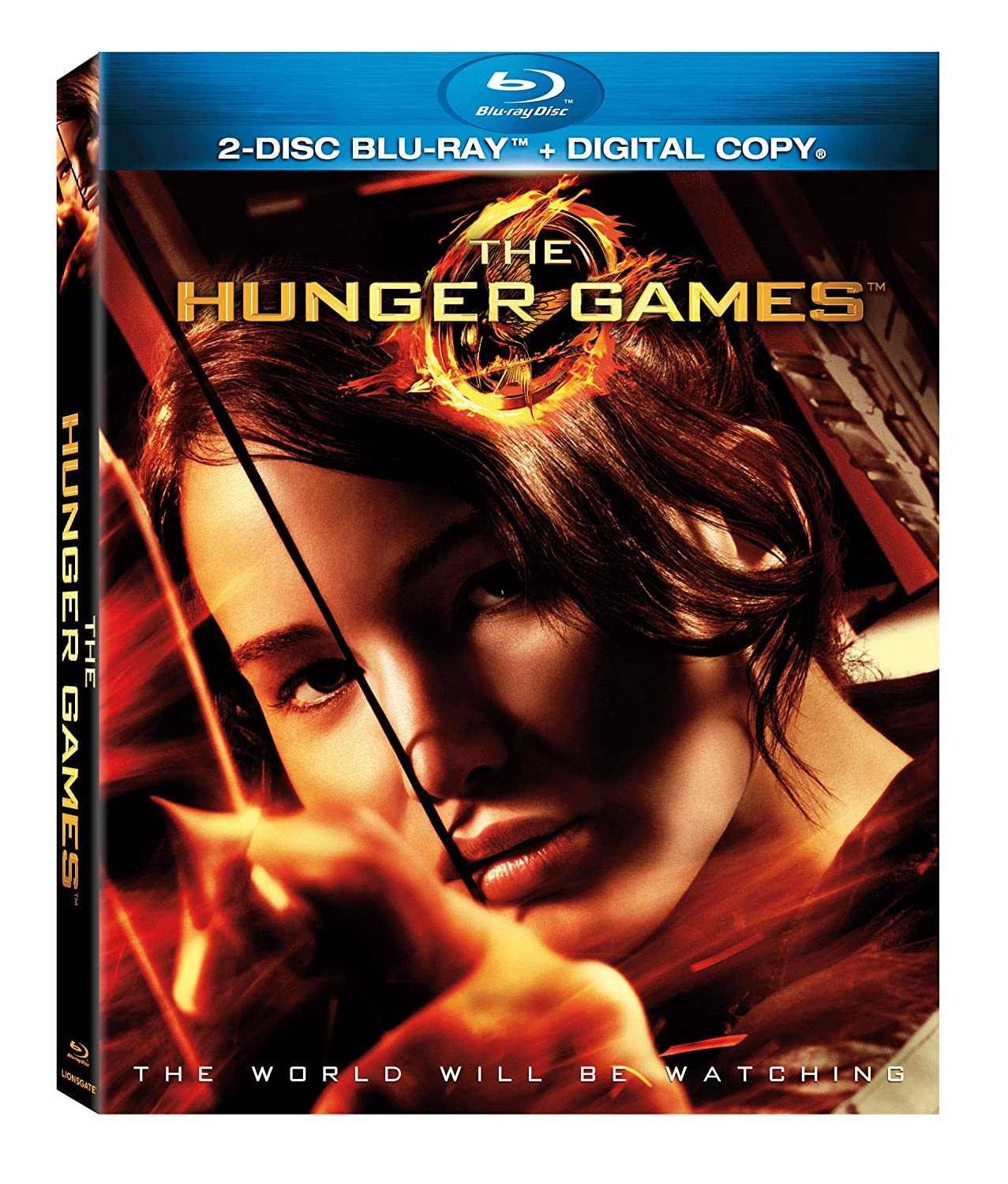 The Hunger Games Blu-ray DVD