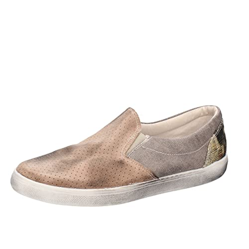 32eb0f2450a Beverly Hills Polo Club Loafer Moccasins Man Beige Textile Suede AH989 (10  US   43 EU)  Amazon.ca  Shoes   Handbags