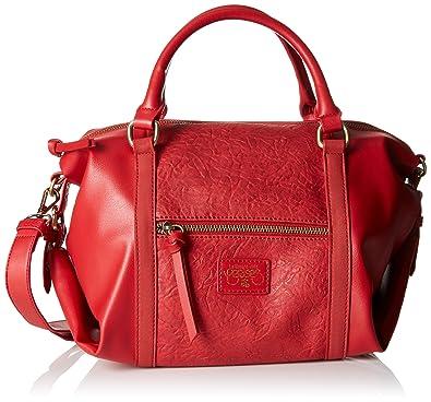 28a3a4bc83 Le Temps des Cerises femme Pure 8 Sac bowling Rouge (Rouge): Amazon ...