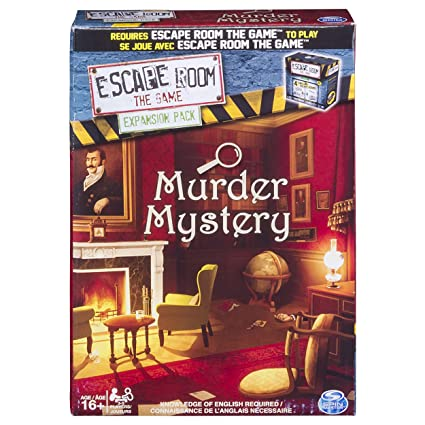 Amazoncom Spin Master Games Escape Room Expansion Pack Murder