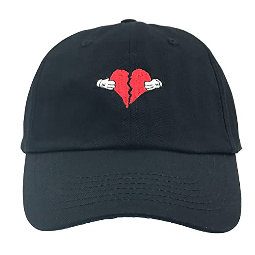 Amazon.com  808s And Heartbreak Heartbreaker Dad Hat Cap Baseball  Adjustable (Black)  Sports   Outdoors df8236cc0c67