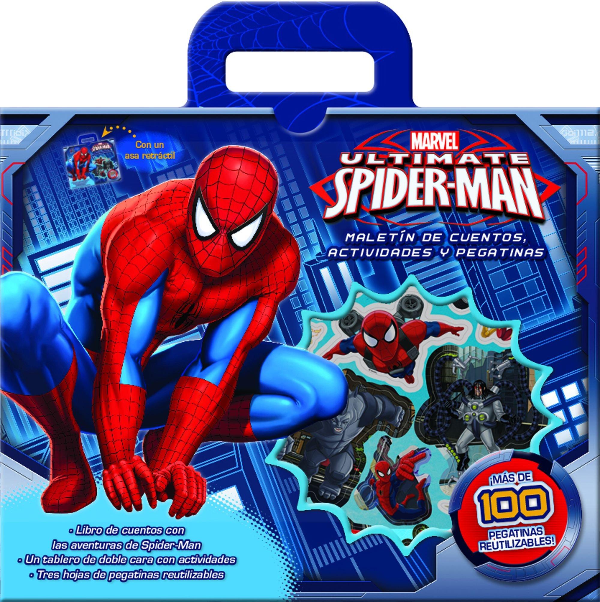 Spider-Man. Maletín de cuentos actividades y pegatinas