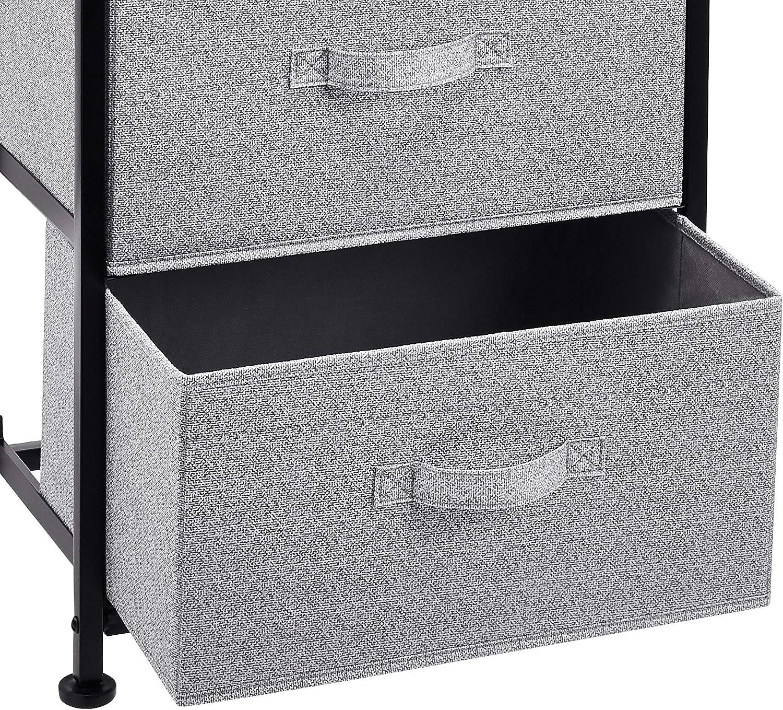 para armario de tela con 4 cajones blanco Basics Unidad de almacenamiento