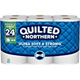Quilted Northern Ultra Soft & Strong® Toilet Paper, 12 Double Rolls, Bath Tissue
