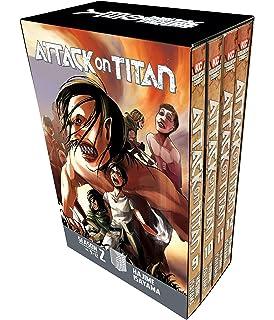 Amazon com: Attack on Titan Season 3 Part 1 Manga Box Set