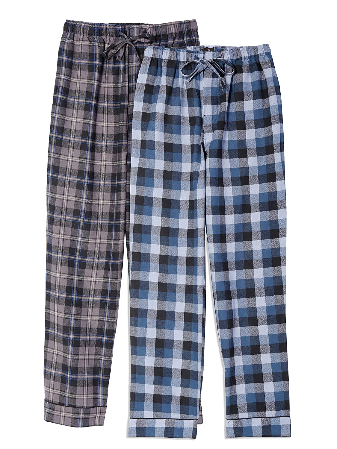 Noble Mount Mens 100% Cotton Flannel Lounge Pants