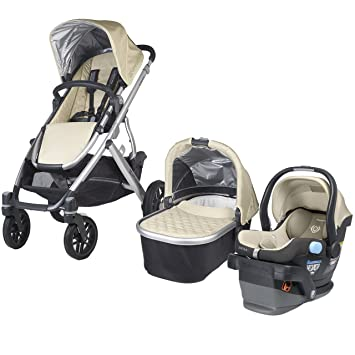 Uppababy 2015 Vista Travel System In Lindsey Wheat