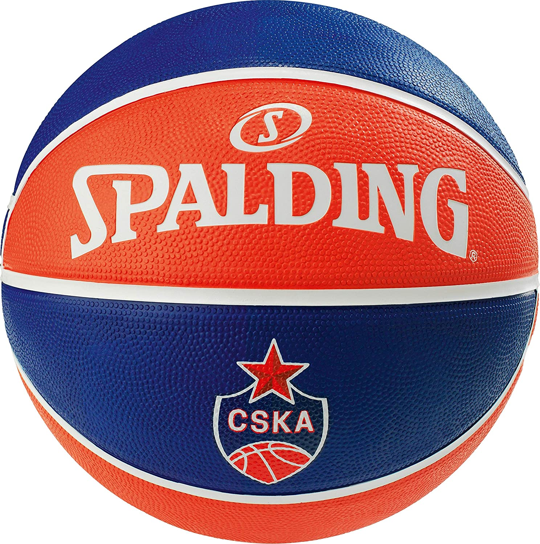 Spalding EL Team CSKA Moscow SZ.7 (83-779Z) Basketballs, Juventud ...
