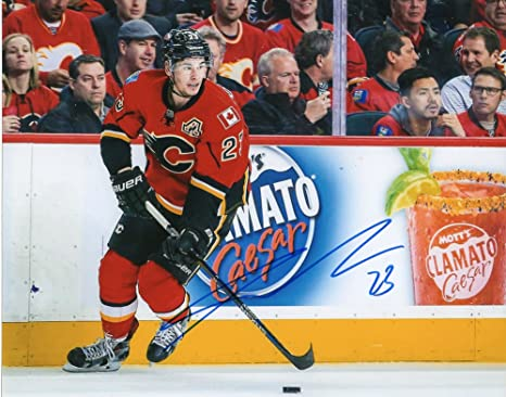 huge discount 8b326 5ff76 Sean Monahan Autographed 8x10 Photo Calgary Flames at ...