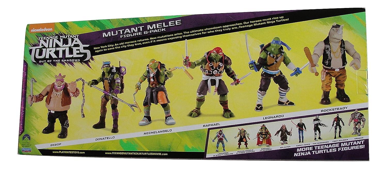 ONTOTL Adolescentes Tortugas Ninjas Mutantes de Las Sombras ...