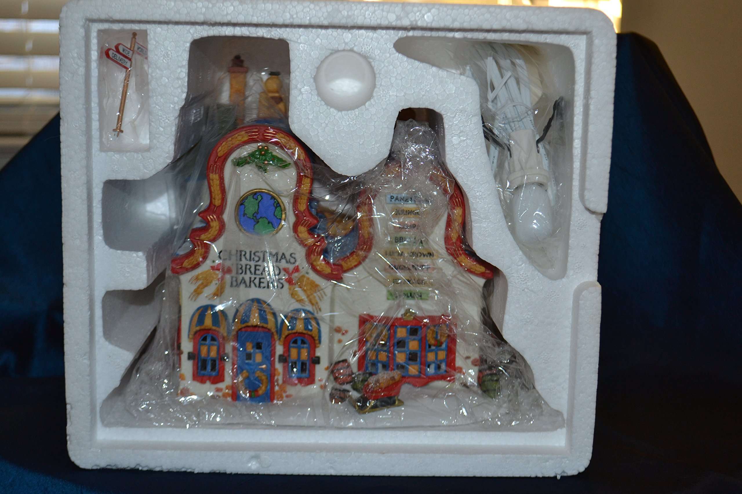 Christmas Bread Makers Department 56 North Pole Series #56393