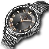 Timothy Stone Ladies Swarovski Crystals 'Parker' Wrist Watch