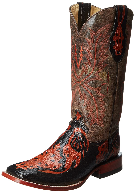 261cee1c42f Ferrini Women's Embossed Cross Western Boot